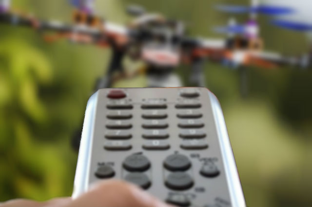Universal Remote to Take Drones Down