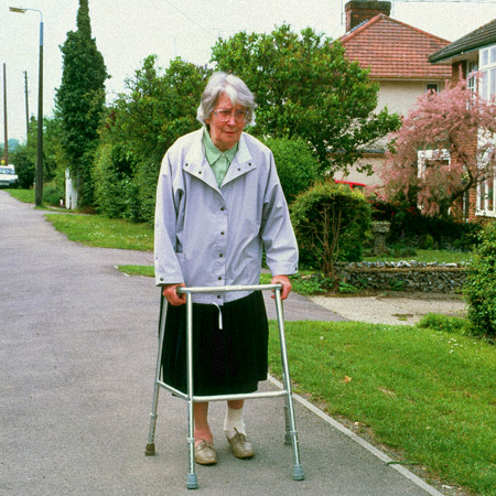 Elderly with Dementia Wandering
