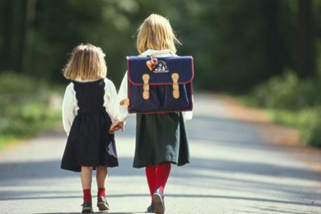 Children Going to School