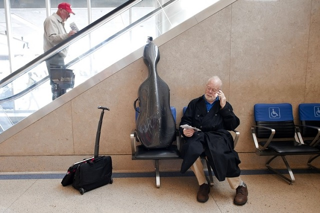 Traveling with Cello