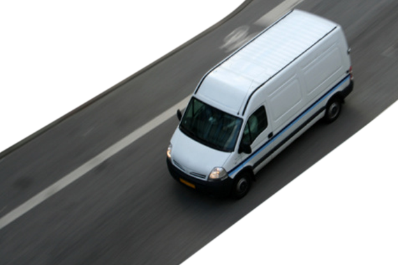 Tracking Delivery Vehicle