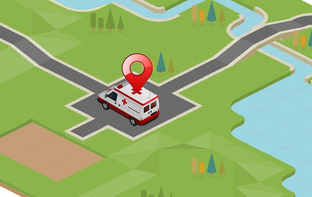Tracking an Ambulance