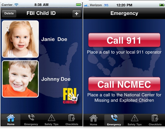 Child Safety App