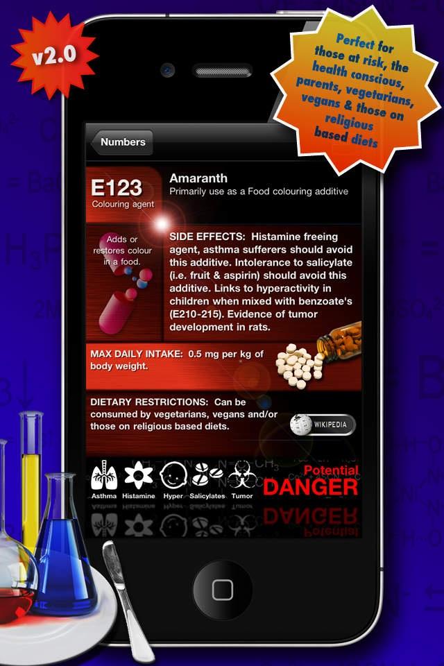 Food Additives 2: Free