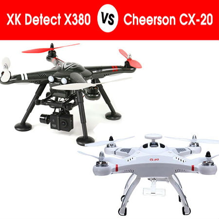 Comparing Cheerson VS XK Detect