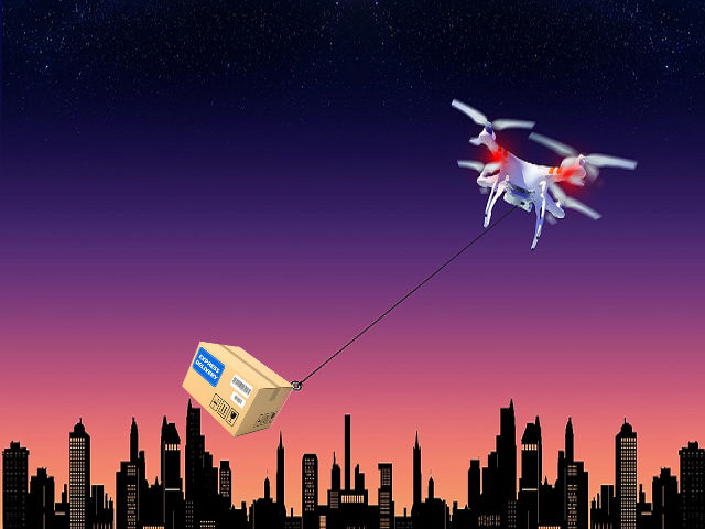 Delivery Drone - Dangers of Unmanned Drones