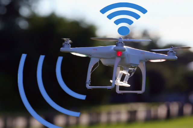 Drone Hot Spots in the Sky