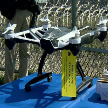 Drone Intercepted in Maryland Prison