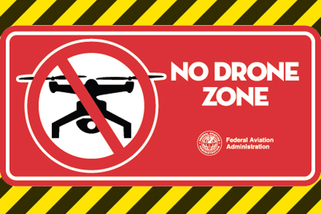 Drone No Fly Zone