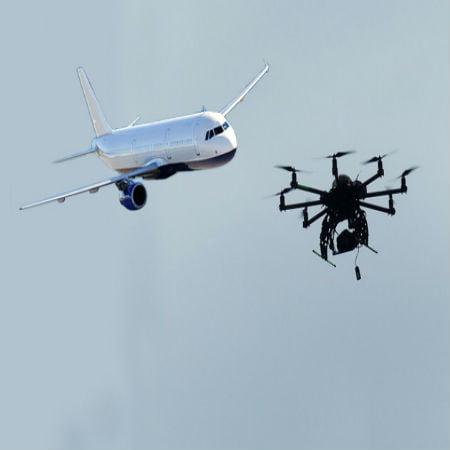 Drone-Plane Near-misses