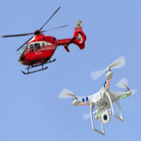 Drones Becoming Sources of Threat to Medical Helicopters