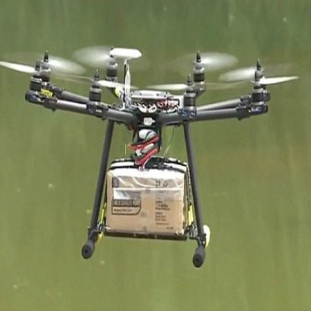 Drones Smuggling Phones and Drugs