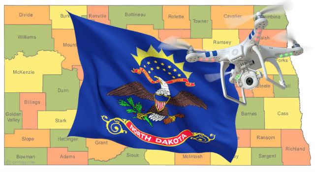 Drones in the State of North Dakota