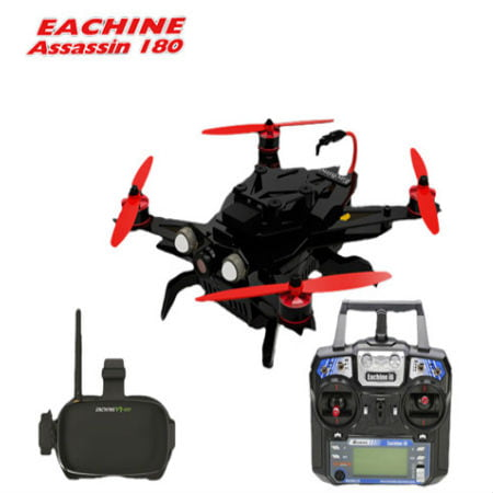 Eachine Assassin 180 and VR-007 FPV Goggles