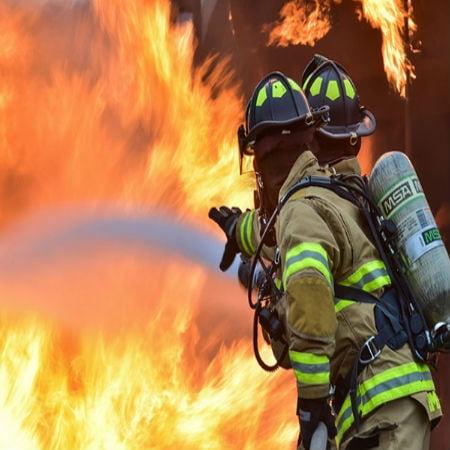 FireFighters Broke Drone Using Water
