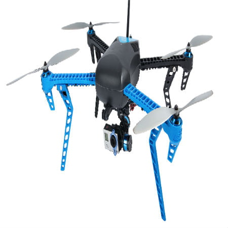 GPS-Guided Quadcopter