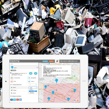 GPS Tracks Illegal Company Activities