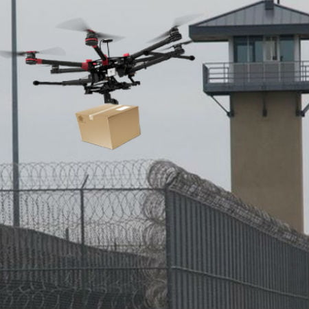Gangs Using Drones to Transport Items