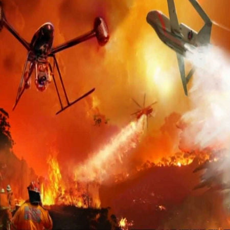 Keep Drones Away From Wildfires