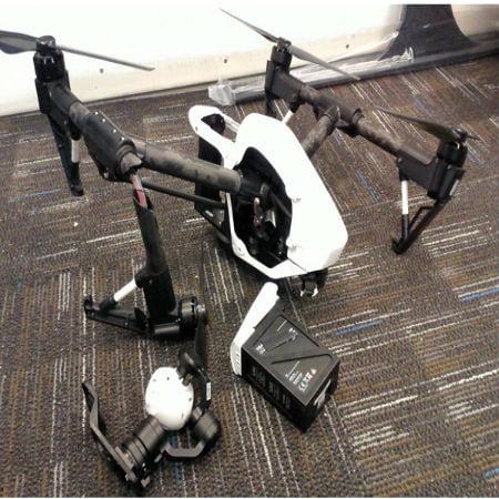 Kentucky Stadium Drone Crashed