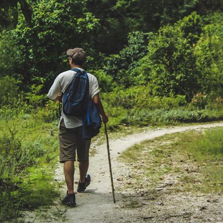 Portable Hiking GPS Unit