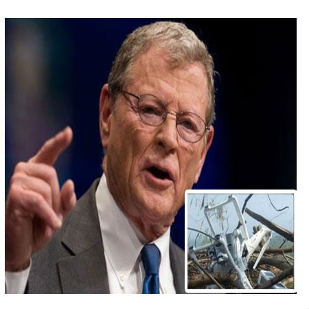 Repercussions for Senator Jim Inhofe for Downed Drone