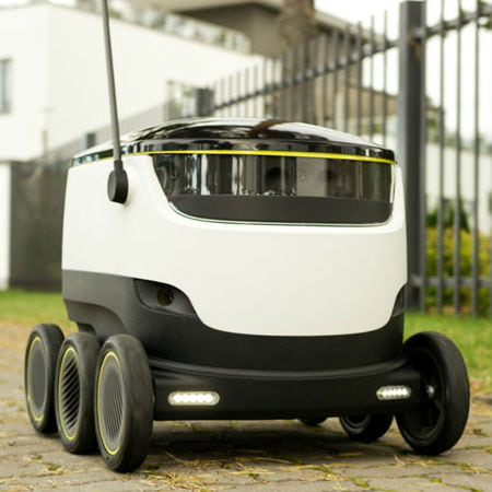 London's First Delivery Robot