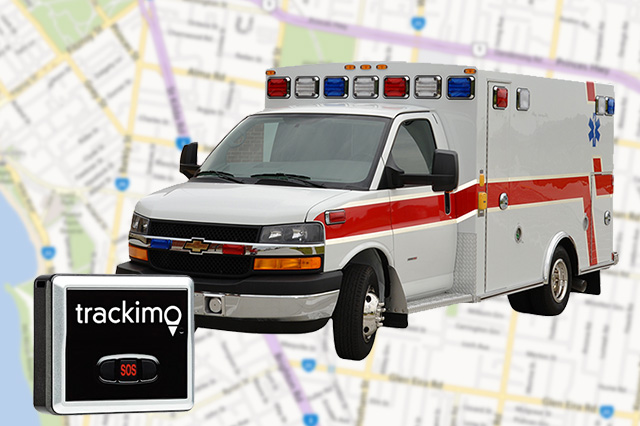 Trackimo for Ambulance