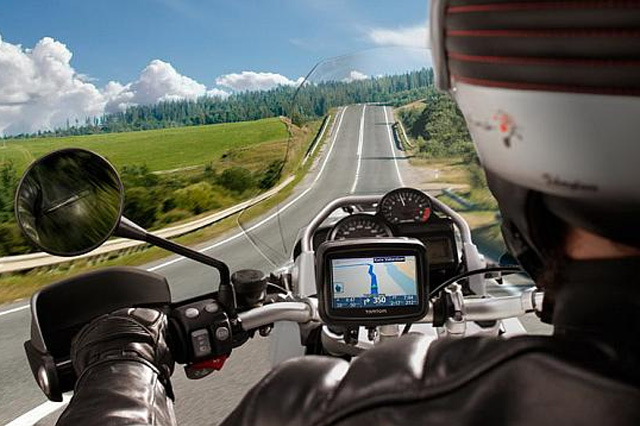 GPS System for Motorcyclist