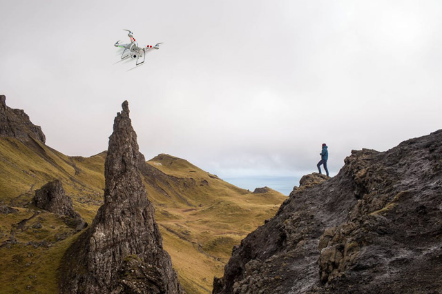 Drones to Find Lost Hikers