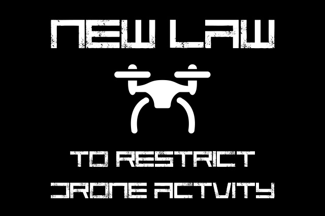 Law to Restrict Drone Activity