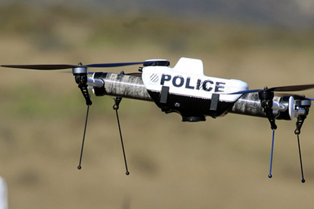 Drones as Crime-Fighting Tool