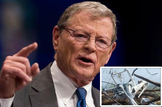 Senator Jim Inhofe for Downed Drone