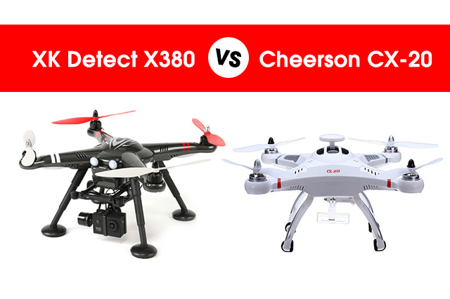 Comparing Cheerson and XK Detect