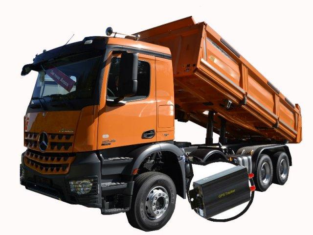 Truck with Hidden GPS