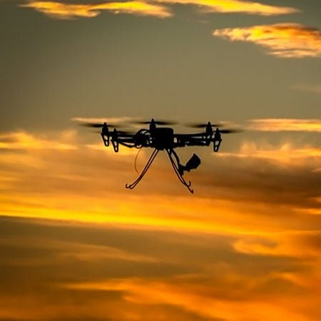 Union Members Strength Through Drones