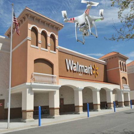 Walmart Ventures into Drone