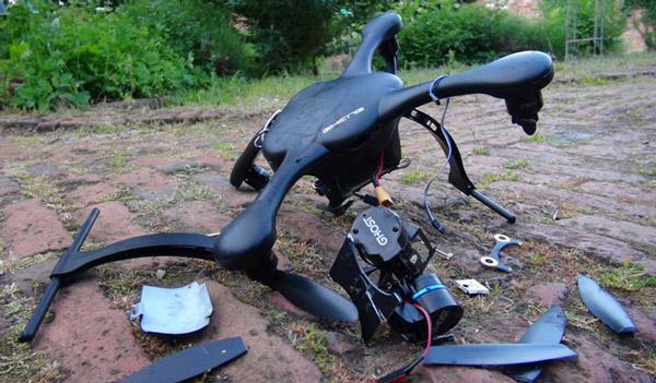 Crashed Drone