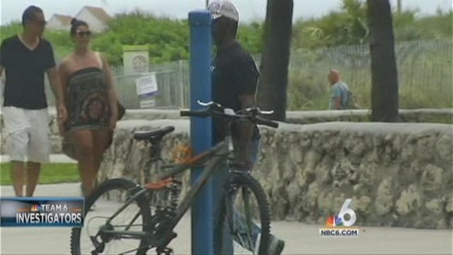 Bike Thefts in South Florida
