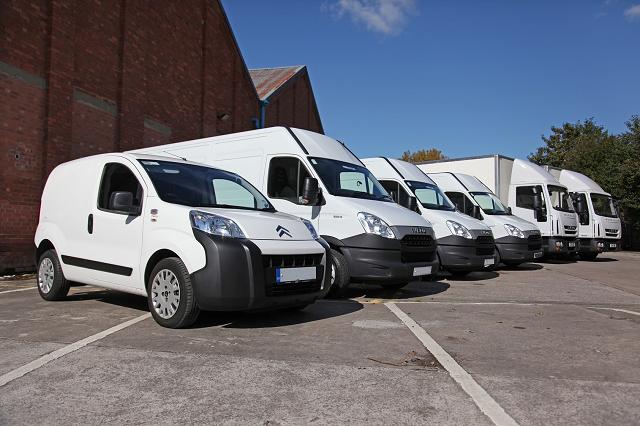 Fleet of Company Vehicles