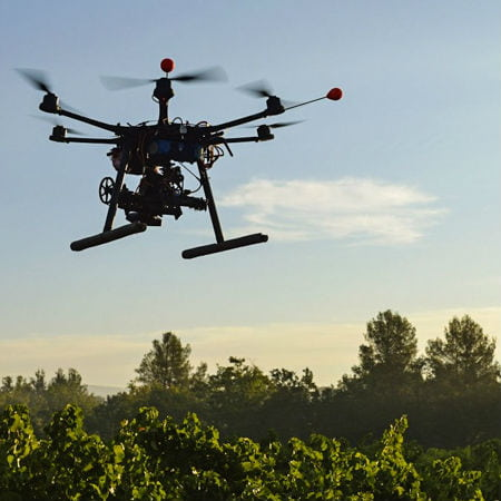 GPS Drones for Tree Planting