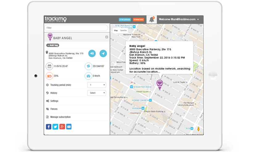 Live Map Tracking