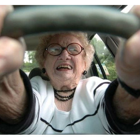 Older Drivers Using GPS Guide