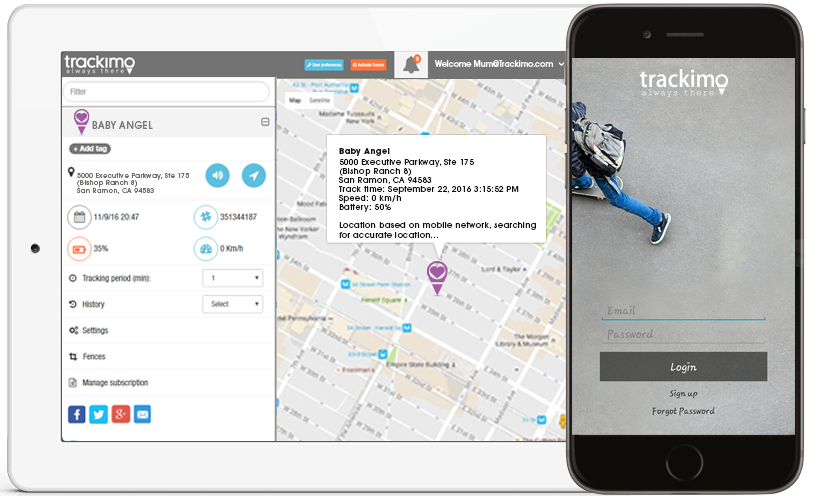Real Time GPS Child Tracking