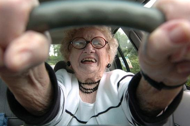 GPS Guide for Older Drivers