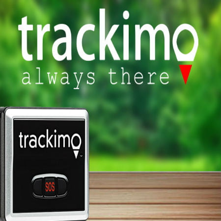 Trackimo GPS Tracker with 1 Year of GSM Data Service