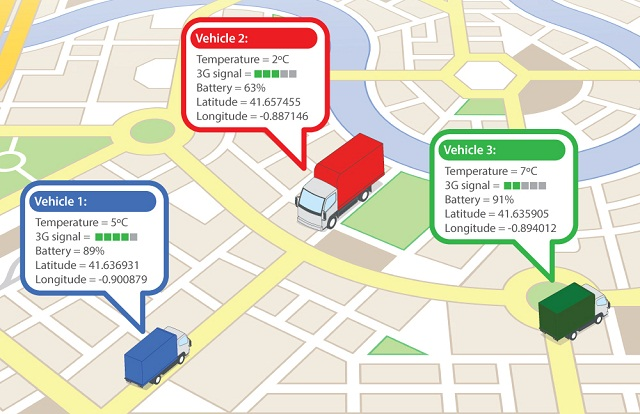 Delivery Vehicle Tracking