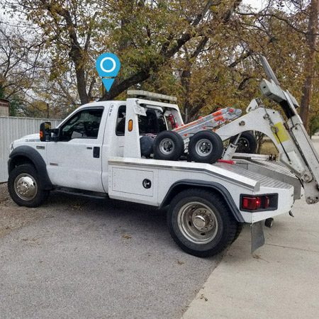 Tow Truck Tracking Device