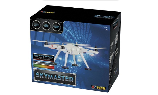 Quadcopter Drone with GPS