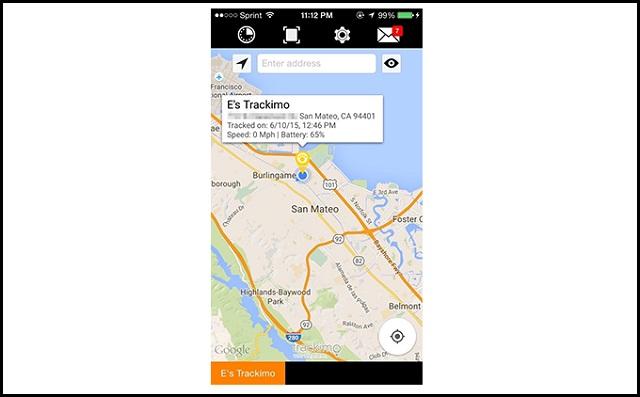 Trackimo App